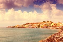 Retro Crete Royalty Free Stock Photography