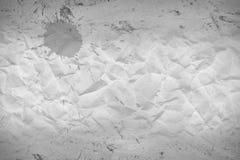 Retro crumpled sack paper in borders. Background of retro crumpled sack paper and wood panelin borders Stock Photos