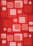 Retro cube background Royalty Free Stock Photo