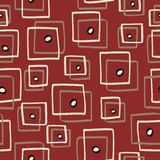 Retro cubes. Retro pattern witch cubes - vector illustration Royalty Free Stock Photography
