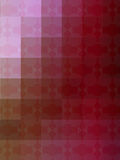 Retro cubism in shades of red Royalty Free Stock Photo