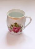 Retro cup. Old retro jug for tea or lemonade Stock Photography