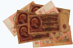 Retro currency Stock Photo