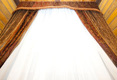 Retro curtains Stock Photography