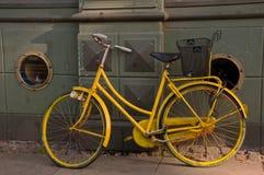 retro cykel Arkivbilder