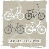 Retro cyklar Arkivfoton
