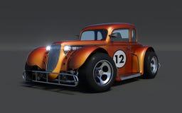 Retro 3d car Royalty Free Stock Photos