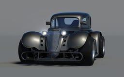 Retro 3d car Stock Image