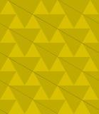 Retro 3D green diagonal triangles Stock Photo