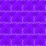 Retro 3D purple stripes crossed Stock Photos