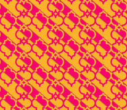 Retro 3D yellow and pink Marrakech Stock Images