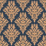 Retro dainty seamless pattern Royalty Free Stock Image