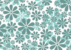 Retro Daisy Pattern Stock Image