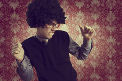 Retro dance Royalty Free Stock Photography