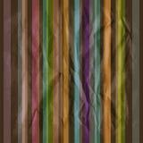 Retro dark striped pattern Stock Photography