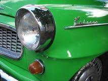Retro de auto van Skoda felicie Stock Foto's