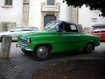 Retro de auto van Skoda felicie Royalty-vrije Stock Afbeeldingen