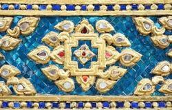 Retro de la decoración tailandesa Foto de archivo