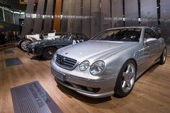 ` RETRO de las OBRAS CLÁSICAS del coche del ` s de Europa del ` clásico más grande de la exposición Fotos de archivo