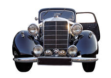 Retro (de periode van de tweede wereldoorlog) auto Royalty-vrije Stock Foto's
