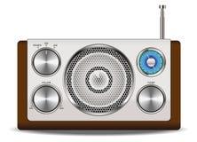 Retro de rádio Imagem de Stock Royalty Free