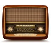 Retro de rádio Imagens de Stock Royalty Free
