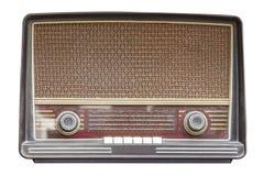 Retro de rádio velho Fotos de Stock Royalty Free