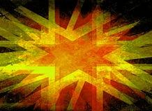 Retro de sterachtergrond van grungeKerstmis royalty-vrije illustratie