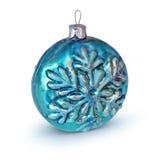 Retro decorazione dell'Natale-albero Fotografia Stock