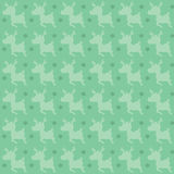 Retro deer pattern Royalty Free Stock Image