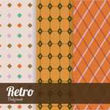 Retro design. Backgrounds, vector illustration Royalty Free Stock Images