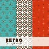 Retro design. Retro  design backgrounds, vector illustration Stock Photos
