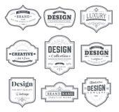 Retro Design Creative Vintage labels Royalty Free Stock Photos