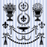 Retro design elements Royalty Free Stock Photography