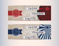 Retro Design Elements Royalty Free Stock Image
