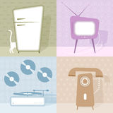 Retro design elements Royalty Free Stock Photo