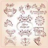 Retro Design Elements Royalty Free Stock Images