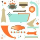 Retro Design Elements Stock Photo