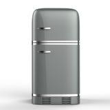 Retro design fridge Stock Image