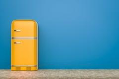 Retro design fridge Royalty Free Stock Photography
