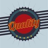 Retro design. Over blue background, vector illustration Royalty Free Stock Photo