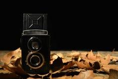 Retro design photo-camera stock photo
