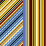 Retro Design Stripes. Illustration of a stripes and lines background Stock Photography