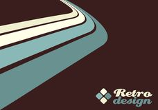 Retro design template Stock Images