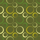 Retro design wallpaper seamless. Illustration of a vintage style wallpaper with circular pattern royalty free illustration