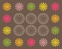 retro designdiagram Arkivbild