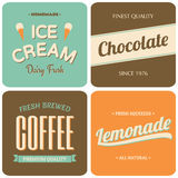Retro Designs Collection Royalty Free Stock Images