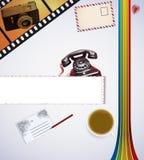 Retro Desk Royalty Free Stock Image