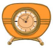 Retro  Desk Clock Stock Photo