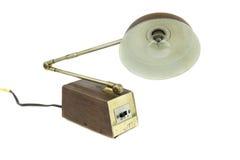 Retro desk lamp Royalty Free Stock Image